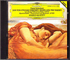 Amadeus-quartetto: Schubert la morte e la ragazza Death and the Maiden CD 1983