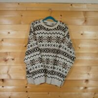 Vintage Men's Large FieldMaster Sweater Nordic Style Knitted Skiing