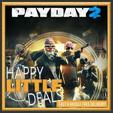 Payday 2 PC STEAM GAME GLOBAL (NO CD/DVD!) Fast Delivery