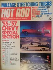 VINTAGE HOT ROD MAGAZINE MARCH 1974..55-57 CHEVY SPECIAL SECTION