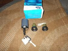 NOS NEW 1990 1991 LINCOLN CONTINENTAL DOOR AND IGNITION KEY AND LOCKS SET NEW OE