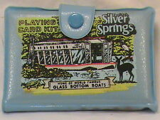 Walt Disney World Playing Cards Silver Springs Florida Glass Bottom Boats