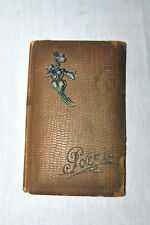 ANTIQUE GERMAN POESIE ALBUM with HANDWRITTEN POEMS 1919 - 1922!!!!