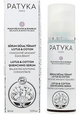 Patyka Lotus & Cotton Balancing Soothing Quenching Serum 30ml rrp £40