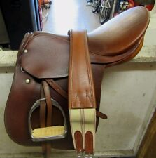 "Stubben Athos II 16.5"" Close Contact English Saddle"