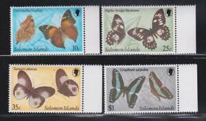 SOLOMON ISLANDS STAMPS 1982 BUTTERFLIES MNH - MISC227