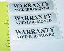 Security Label. Warranty Void Tamper Evident Seal / Labels