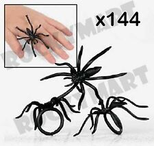 (Bag of 144 ) Spider Rings Halloween Party Favors Loot Trick-or-treat RM2246