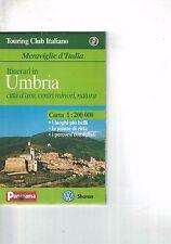 UMBRIA - TOURING CLUB ITALIANO - CARTA 1:200000 - PANORAMA