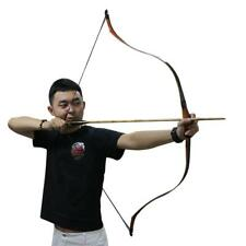 """30-50lbs 50"""" Traditional Turkish Handmade Recurve Bow Longbow Hunting Horse Bow"""
