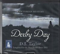 D J Taylor Derby Day 14CD Audio Book Unabridged Victorian Mystery FASTPOST