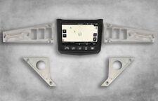 UTV Dash Panel Plates Aluminum Powder coated for Polaris Ride Command