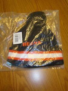 NFL Chicago Bears Winter Pom Pom Knit Hat Cap Beanie Boys Youth 8-20 New!