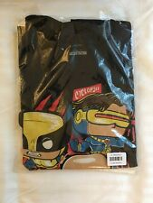 Funko Pop! Tees Marvel Collector Corps X-Men 20th T-Shirt M Wolverine Professor