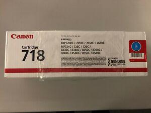 Canon 718 C - 2661B014 - 2661B002 - Toner cyan - i-SENSYS LBP72 - NEU