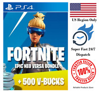 Fortnite Neo Versa Bundle Code + 500 V Bucks PS4 US - Super Fast Dispatch
