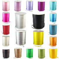 """880yds/Roll 3mm Double Face Satin Ribbons Reel Gift Wrapping Wedding Craft 1/8"""""""