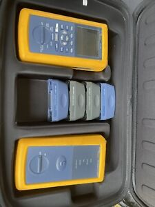 Fluke DSP-4300 Cat6 MM Fiber Gigabit Cable Certifier FTA420 DSP4300 DSP-FTA420