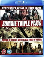 Nuovo Sopravvivenza Of The Dead / Day Of The Dead / Diary Of The Dead Blu-Ray