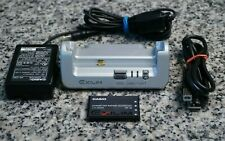 OEM Casio CA-22 Docking Station W/ Cables, Battery for Exilim EX-S3 Camera FR/SH