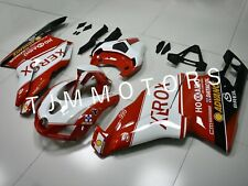 For Ducati 749 999 2003 2004 ABS Injection Mold Bodywork Fairing Kit Red Xerox
