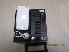 for Apple iPhone 4 4S power bank battery charger case 1450mAh white YY-CD-7