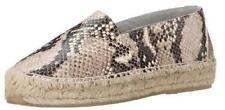 Women's Shoes Diane Von Furstenberg TILLY Flat Espadrilles Slip On Leather BEIGE