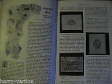 Christmas Cards Collecting History & Origin Old Antique Victorian Article 1897