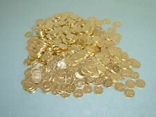 400 AWESOME GOLDEN SLOT MACHINE TOKENS  == BEAUTIFUL DESIGN ! ==