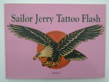 RARE Sailor Jerry Tatuaggio Flash VOL 2 LIBRO-In buonissima condizione-OUT OF PRINT-non MACCHINA
