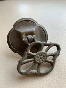 Antique Ironmongery Drawer Handle 1900s Victorian Cast Iron 3 Available