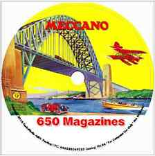 650 Meccano Magazines 3 DVD Collectors Edition toys craft hobby engineering boys