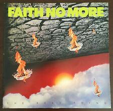 Faith No More - The Real Thing 1st Press Vinyl 1989 LP UK Slash Record Rare VG+