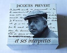 Jacques PREVERT et ses Interpretes RARE Coffret 6CD POLYGRAM (1992) MINT