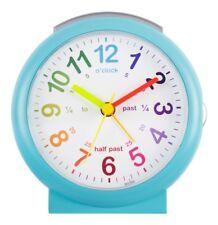 Acctim 15219 Lulu Time Teaching Alarm Clock Blue