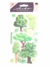 STICKO VELLUM STICKERS - TREES summer