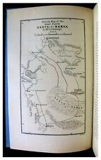 1891 Biddulph  GREAT PERSIAN DESERT  Siah Kuh Mountains  MAP  Darya-i-Namak  11