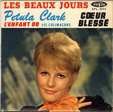 """PETULA CLARK """"LES BEAUX JOURS"""" 60'S EP VOGUE 8035"""