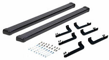 2014-2018 GMC Sierra / Chevy Silverado 1500 CREW CAB Running Boards Black Bar