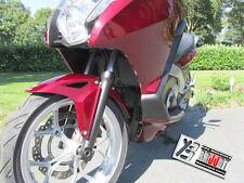 Kühlerabdeckung Kühlergitter Schwarz/Silber für  Honda Integra 700 und 750