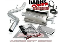 BANKS MONSTER EXHAUST SYSTEM 51313 FITS 2000-03 JEEP WRANGLER TJ JEEP EXHAUST
