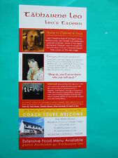 ►►rare Irish flyer Clannad Enya Moya Brennan Ireland advert 1