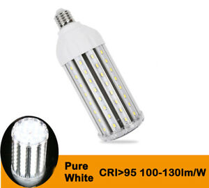 High Quality High CRI 95 LED Corn Light Lamp Pure White 6000K 30W AC 100V-240V