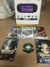 Sony PSP-3000 Includes 6 Games! Tested and Working. Very Good Condition!