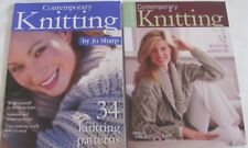 Contemporary Knitting by Jo Sharp Issue 1 and Issue 2