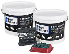 Pest Expert Formula 'B' Rat Killer Poison 3kg (Professional Strength)