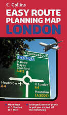 Easy Route Planning Map - London, Harper Collins, New Book