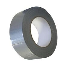 SILVER AUTOMOTIVE Grade DUCT Tape Gaffa Cloth 48mm x 50m Waterproof Strong