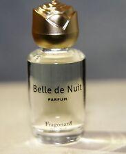 Vintage IBelle de Nuit  Fragonard Pure Perfume Parfum .25 oz  Mini Splash