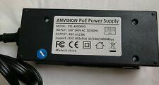 Anvision 48V 35W POE Power Injector (Plus) Gigabit Compatible PSE-480080G